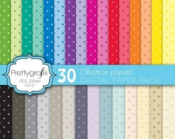 80% OFF SALE polka dot digital paper, commercial use, scrapbook papers, background  - PS581