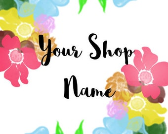 Shop Banner and Shop Logo