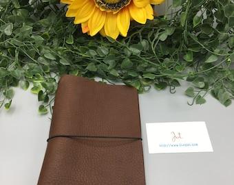 CJ11 - Mahogany - ClassicJot Traveler's Notebook/Planner Cover/Journal