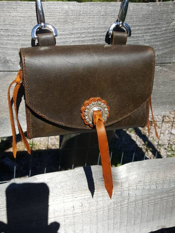 Leather Adventure Bag, Belt Bag, Leather Bag