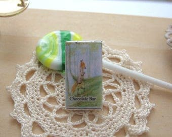 dollhouse candy chocolate bar beatrix potter 12th scale miniature
