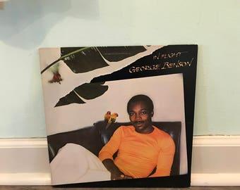 "George Benson ""In Flight"" vinyl record"