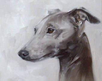 Italian Greyhound -  original painting