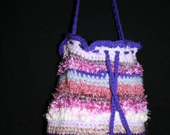 Pink and purple tones 2 shoulder bag
