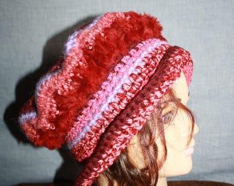 fancy with little edge, very warm hat