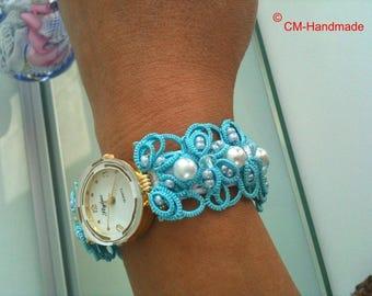 """Wristwatch """"Intertwining"""""""