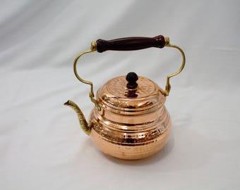 Chaudron marmite bassine pralines en cuivre ancien for Bouilloire made in france