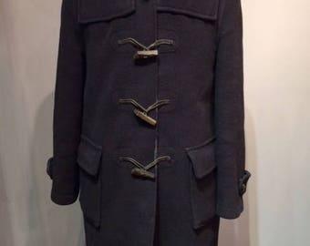 Black Men Duffle Coat