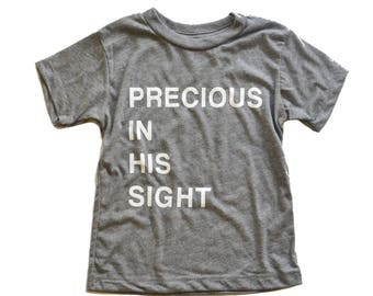 Precious in His Sight Tee - Baby & Toddler