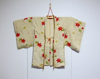 Vintage Kimono Jacket - Haori - Momiji