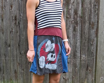 Mickey Mouse Angles Tank Dress