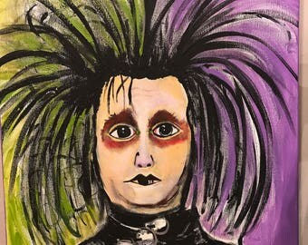 Edward Scissorhands, Disney movie, Johnny Depp
