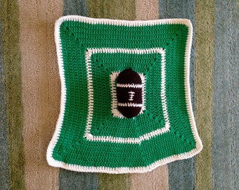 Football Lovey Security Blanket