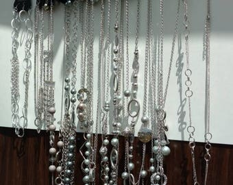 15 Silver colored Necklaces by Paparazzi Close out Sale