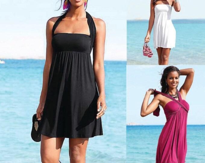 Beach Dress with Ties