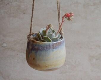 Hanging Planter,Blue-white Planter,Succulent Planter,Ceramic Planter,Indoor Planter,Modern Planter,Ceramic Hanging Planter,No Plant,SP307