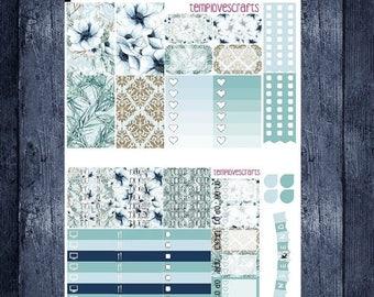 Ghost Flower Kit for Happy Planner