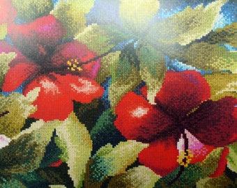 Hibiscus by Francoise Vincent dmc bk209
