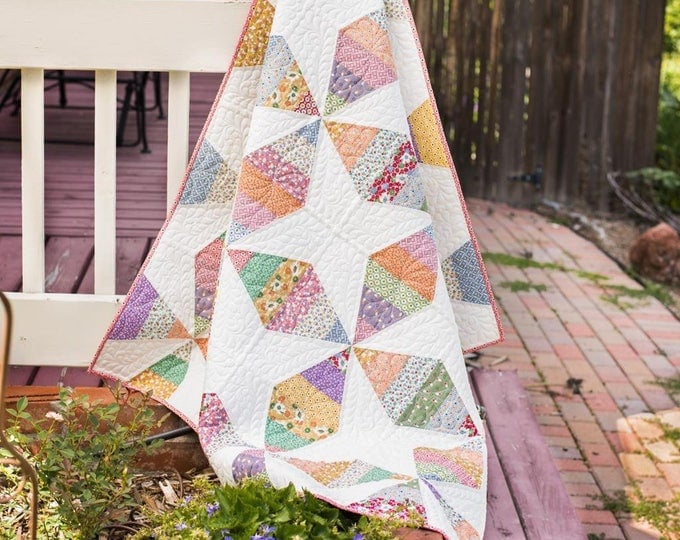 Classics Quilt Kit by Heidi Pridemore featuring Marcus Fabrics Gracie's Schoolhouse by Judie Rothermel