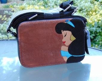 Jasmine Inspired Hand Painted Handbag