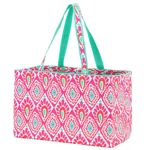 Beachy Keen Ultimate tote bag navy blue oversized bag monogrammed tote bag beach bag pool bag summer bag monogrammed gift