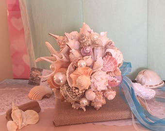 Xo bouquets 23 inch seashell bouquet ready to ship today