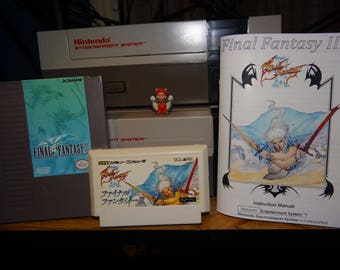 Final Fantasy III for Famicom English Translation - available in original Famicom cart or converted for gray NES cart