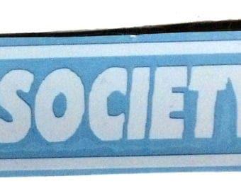 FSociety Decal,  Mr. Robot vinyl decal, Mr. Robot Car Sticker