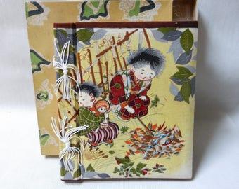 Japanese Blank Scrap Book
