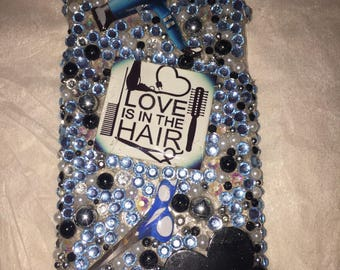 Love is in the HAIR iphone 6 case