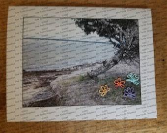 Tatted Notecards - Beach Scene 3