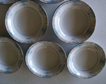 Fashion Royale Heirloom Set Of Seven Fruit Bowls