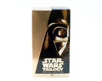 Star Wars Trilogy VHS Box Set Movies George Lucas Films Vintage Retro