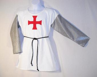 Boy Sz 12 Saint George Costume Tunic for All Saints Day