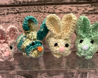 Amigurumi Handmade Crocheted Tiny Rabbits