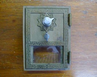 Post Office Box Door 1958 Combination Lock