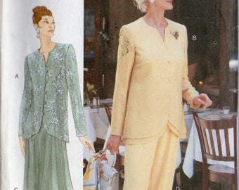 The Vogue Woman Pattern 9596 TOP SKIRT & PANTS Misses 6 8 10