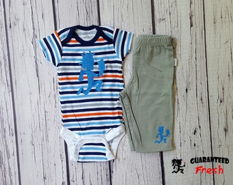 Hatchetman Juggalo baby boy bodysuit outfit - Custom made to order- newborn - 18mo