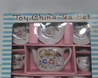 Toy China set