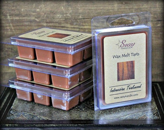 INDONESIAN TEAKWOOD | Wax Melt Tart | Sassy Kandle Co.