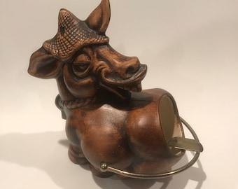 Vintage Donkey Ashtray