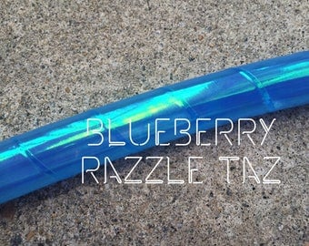 Back in Stock* •Blueberry Razzle Taz• Polypro or HDPE Hula Hoop