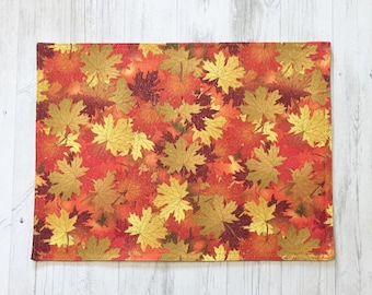 Fall Placemats - Fall Decorations - Fall Decor - Set of 4 Placemats  - Fall Table Decor - Rustic Placemats - Thanksgiving Placemats