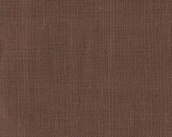 "Permin of Copenhagen - 28 Count Coffee Bean Linen - 18"" x 18""  - Made in Denmark"