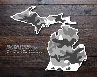 Michigan Mitten Vinyl Decal Sticker A26