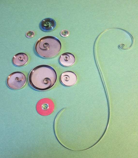 10 Assorted Intact Watch Mainsprings - Repair Watches - Make Beautiful S Shapes When Sprung - Great for Steampunk Art - Decorations