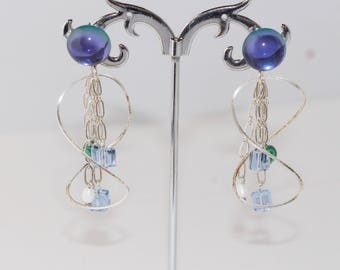 Earrings made lengthh Mano