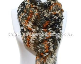 Zig Zag Oversize Tassel Scarf Winter Accessories Women Accessories Fall Fashion Shawl Women Winter Fashion Christmas Gift Ideas For Her