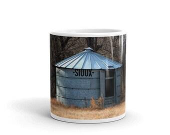 Mug - Red Silo Original Art - Sioux Bin