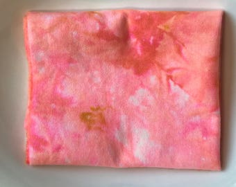 Sweet Hand Dyed New Wool Fabric, Rug Hooking, Penny Rugs